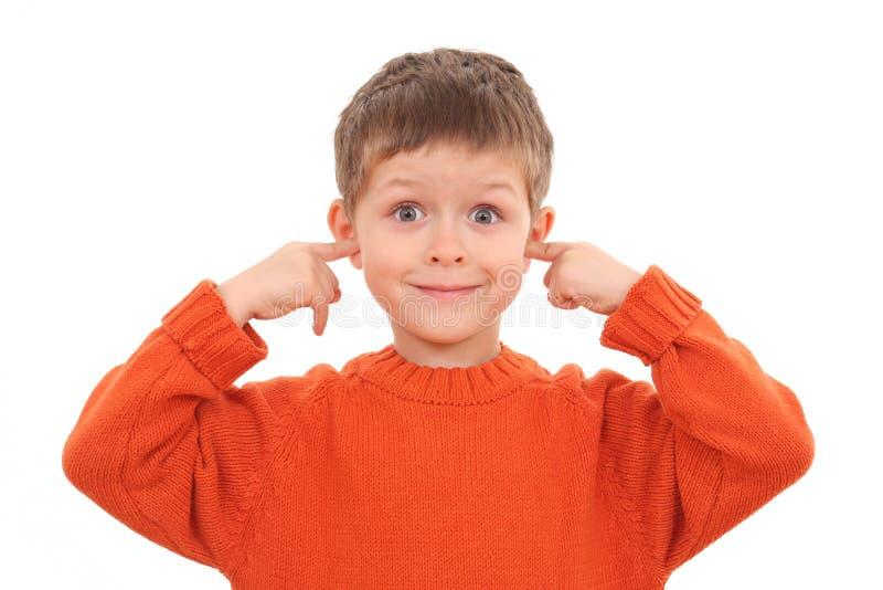 głuchy fotografia stock