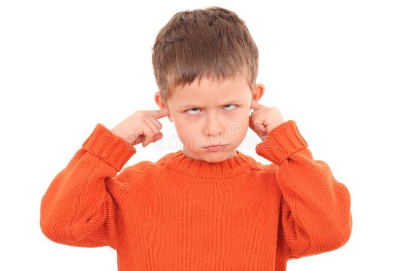 głuchy zdjęcie stock