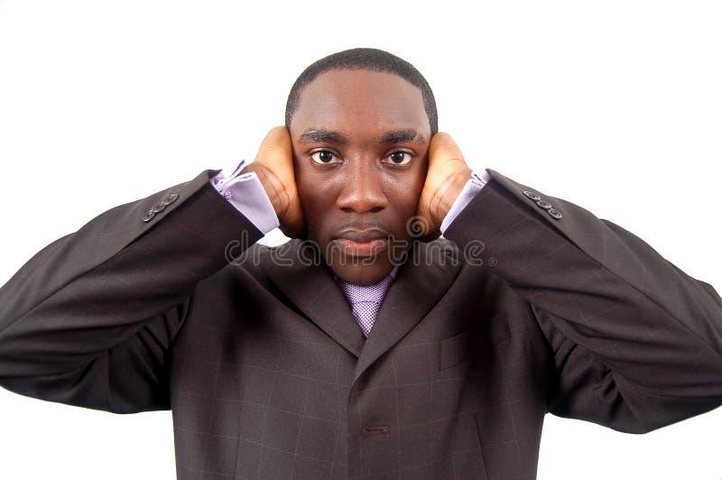 głuchy interes obrazy stock
