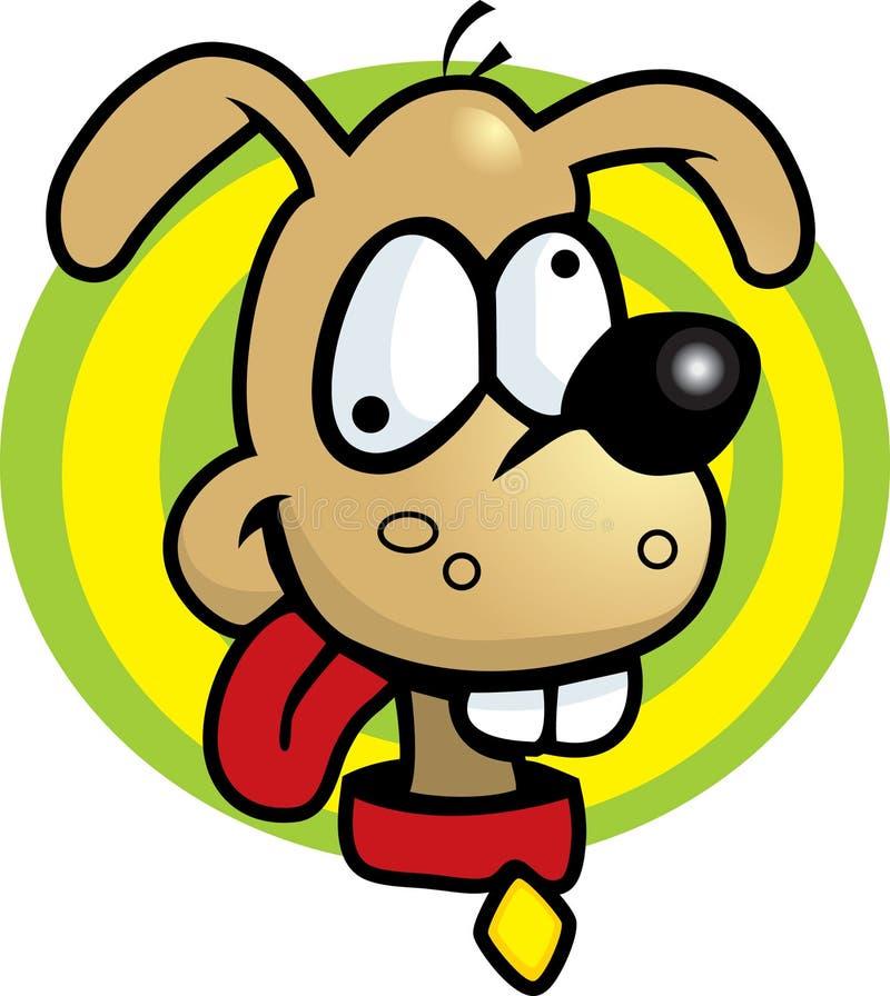głupi pies ilustracja wektor