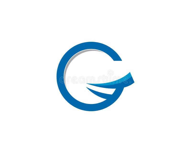 G信件商标传染媒介象例证 皇族释放例证