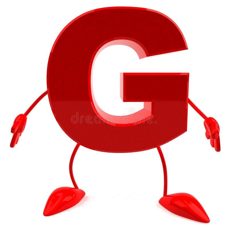 g信函 库存例证