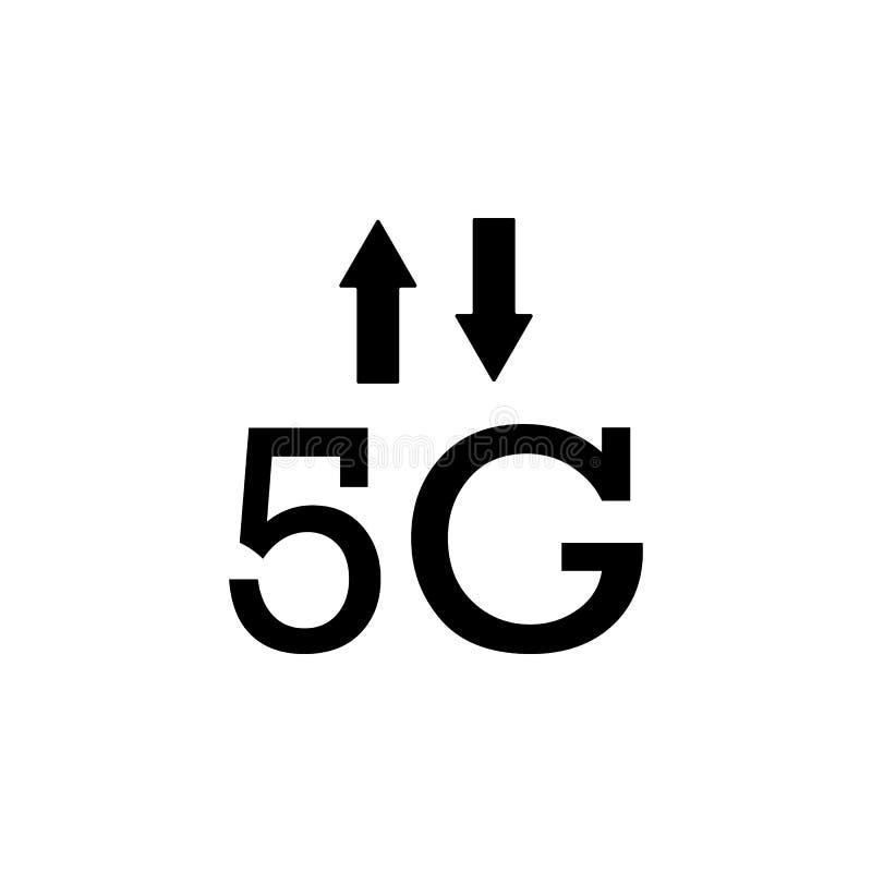 5g, сигнал, значок вектора стрелок r Мобильная иллюстрация вектора концепции 5g, сигнал, бесплатная иллюстрация
