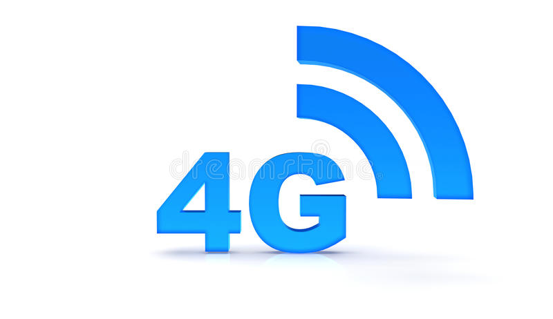 4g vector illustratie