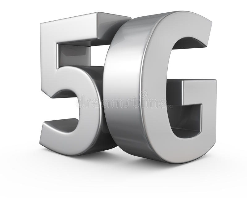 5G vector illustratie