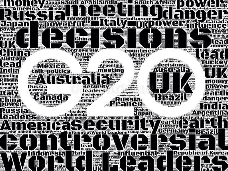 G20 2014 ελεύθερη απεικόνιση δικαιώματος