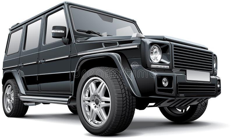 G-clase de Mercedes-Benz por Brabus ilustración del vector
