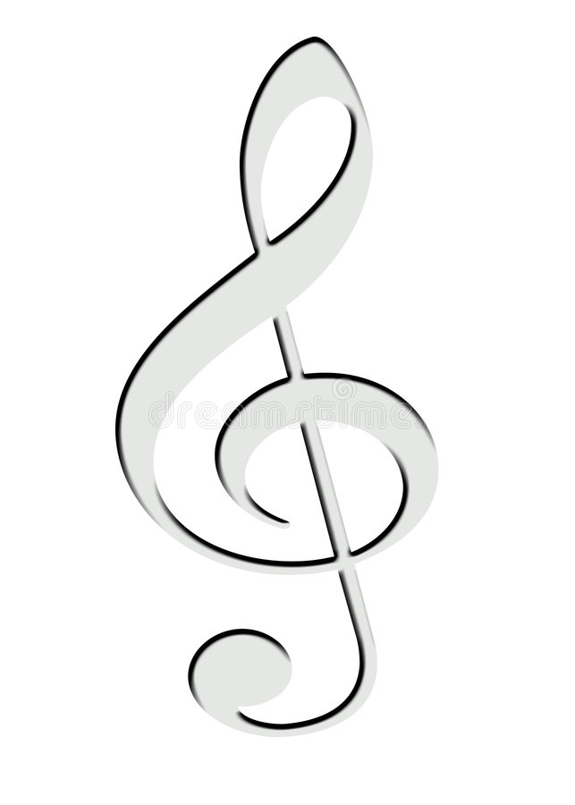 Download G Clef Stock Images - Image: 7538204