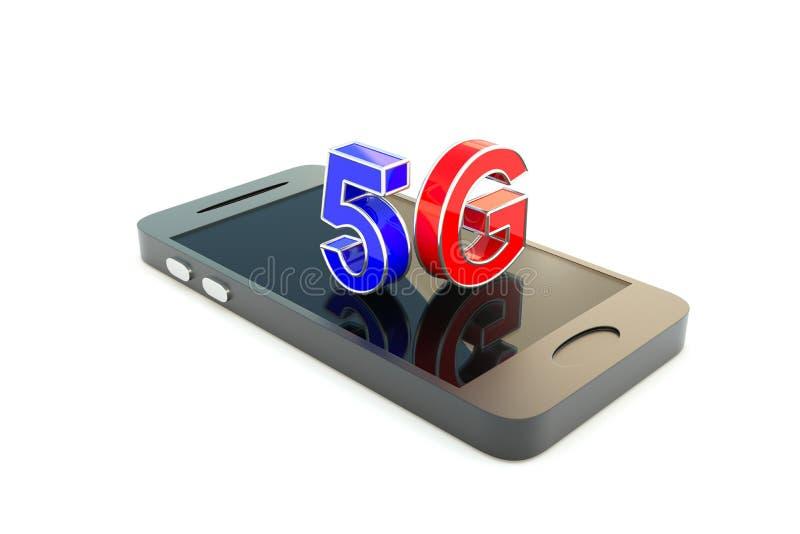 5G concept vector illustration