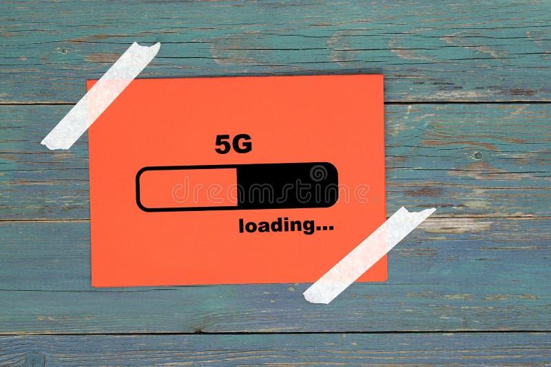 5g de carga en papel fotografía de archivo