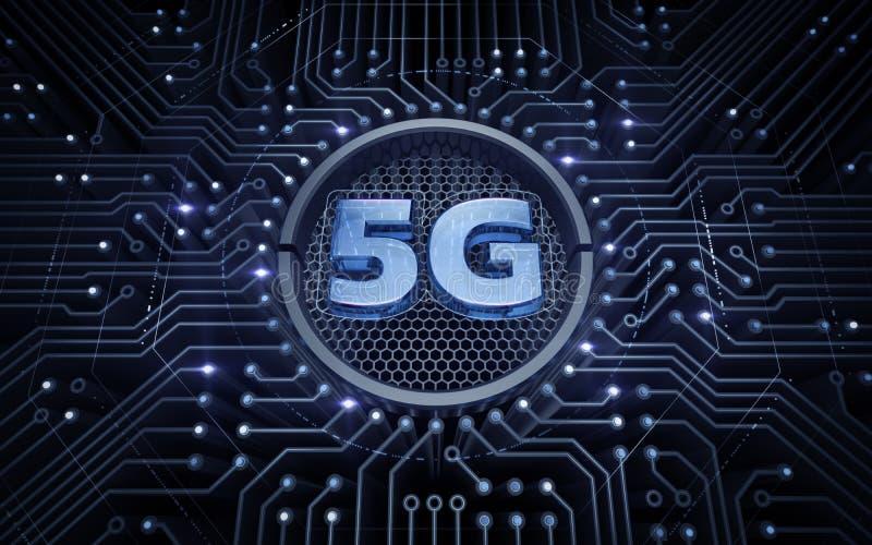 5G - 5. Generations-drahtlose Systeme lizenzfreies stockfoto