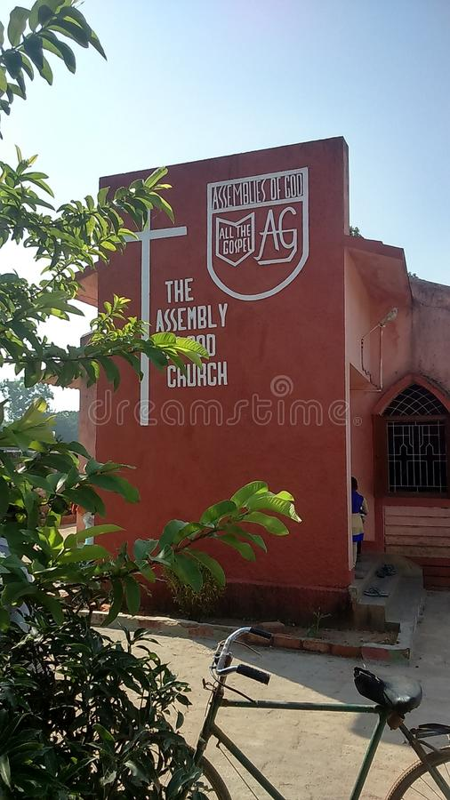 A g Iglesia del belangi (asamblea de la iglesia de dios) imagen de archivo