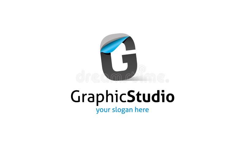 G Letter Logo royalty free illustration