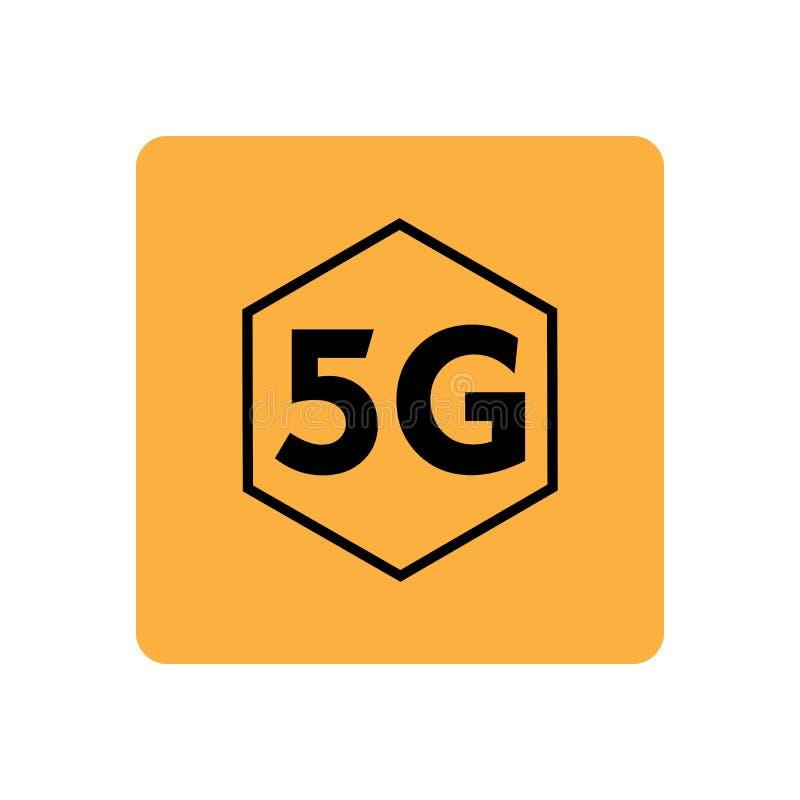 5g Logo Sign Vector Template Stock Vector
