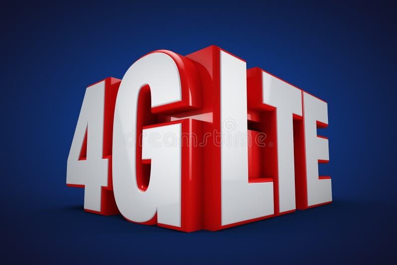 4G LTE vector illustratie