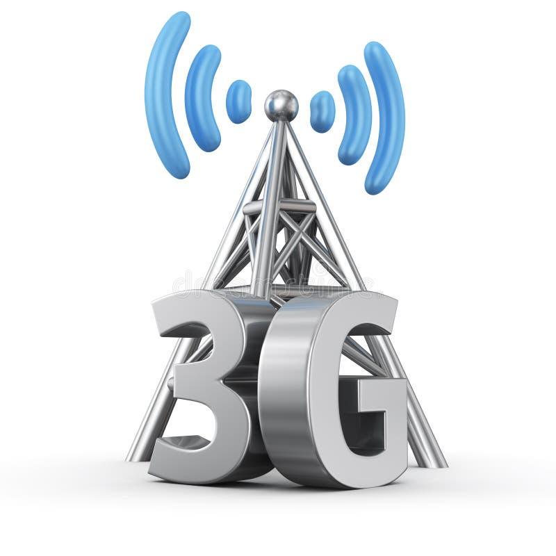 3G nadajnik ilustracji