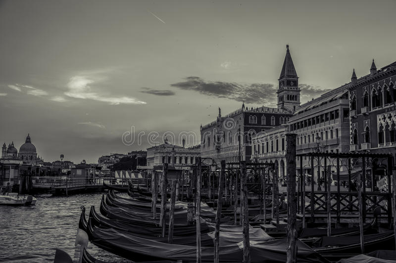 Gôndola de Veneza Venezia Itália fotos de stock royalty free