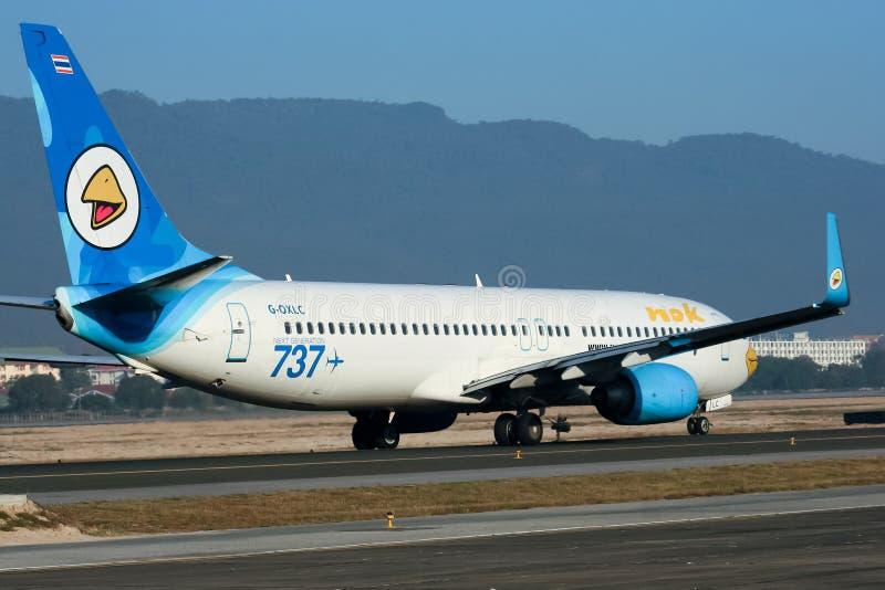G-OXLC Боинг 737-800 NokAir стоковые изображения rf