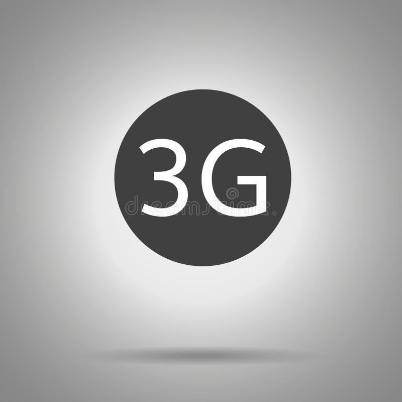 3G pictogram Vector3g symbool stock illustratie