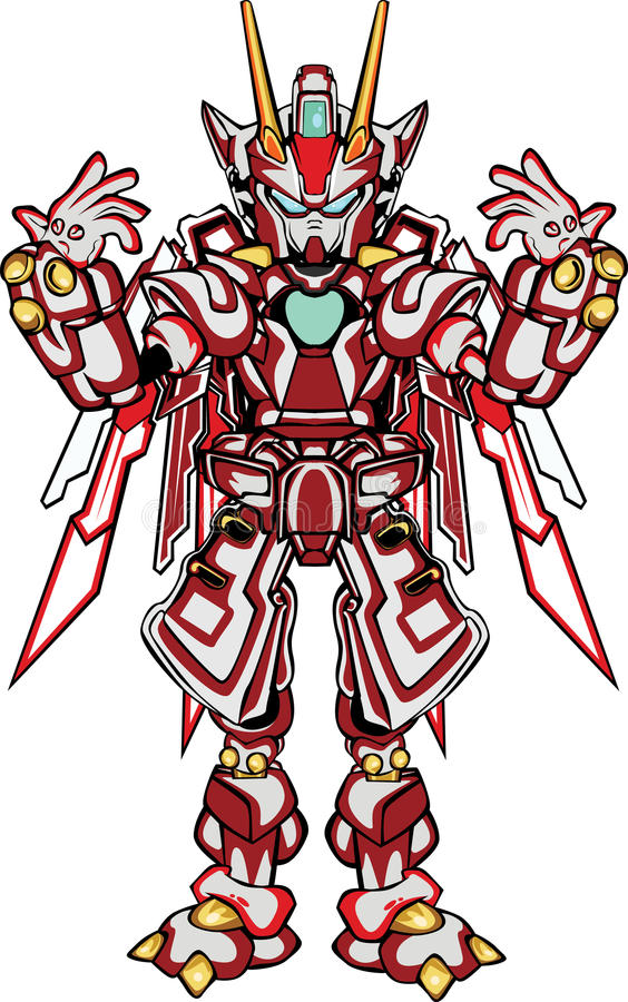G robo身体局部 库存照片