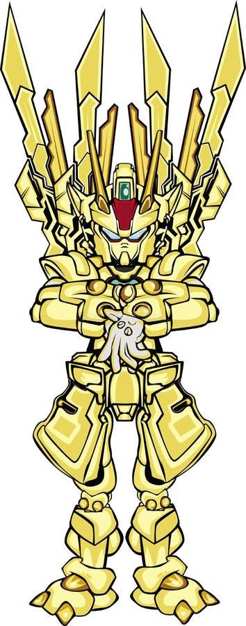 G robo body part royalty free illustration