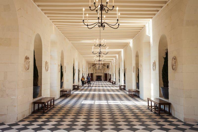 G?rskiej chaty De Chenonceau kasztel, Francja obrazy royalty free