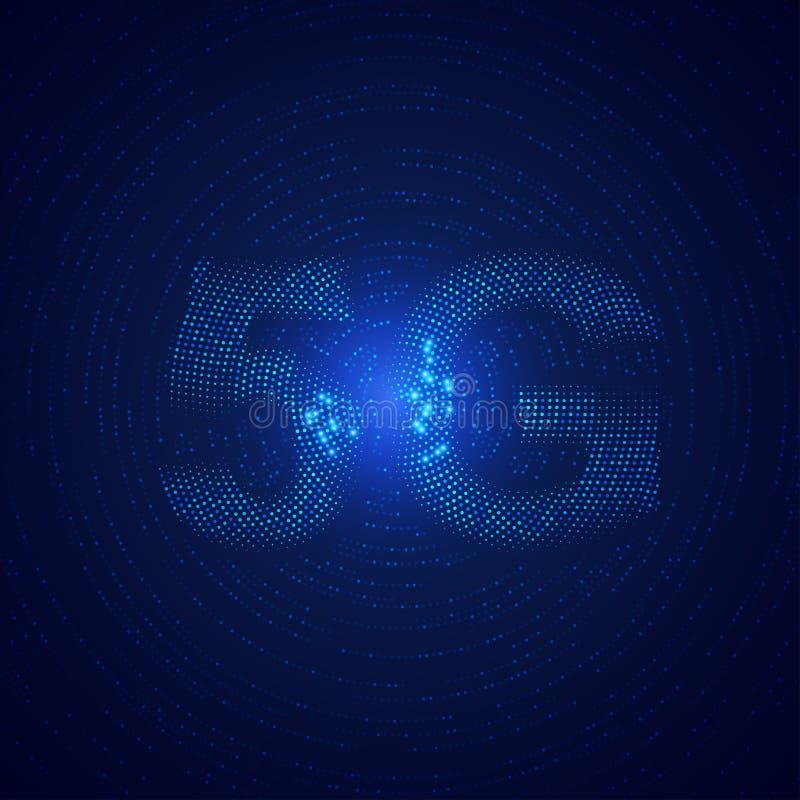5G sygnał royalty ilustracja