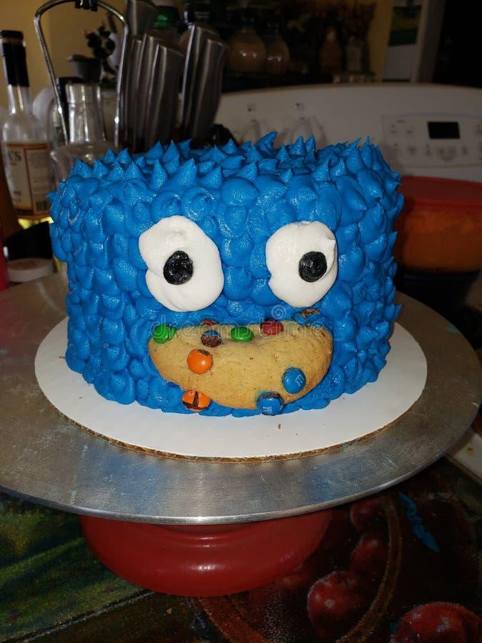 G?teau de monstre de biscuit photos stock