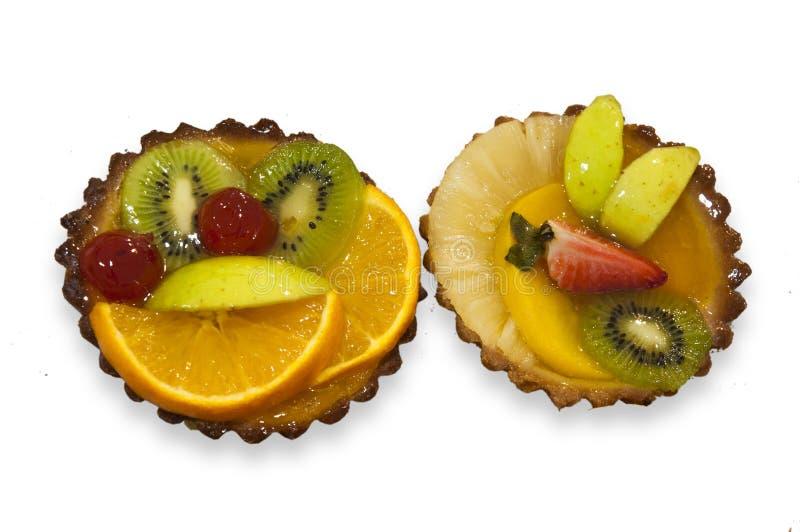 G?teaux de fruit photos stock