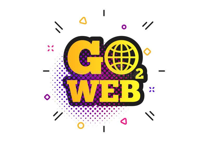 G? till reng?ringsduksymbolen Internet?tkomstsymbol vektor stock illustrationer