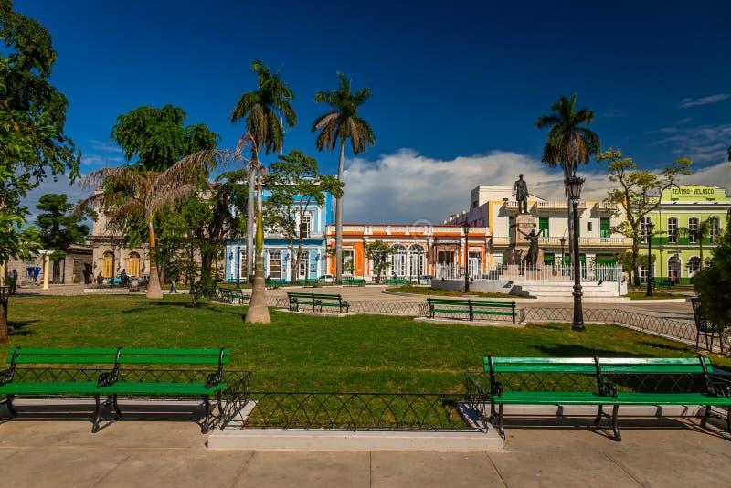 G??wny Plac w Matanzas, Kuba zdjęcie royalty free