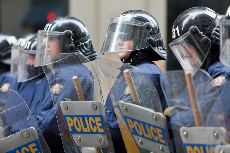 G20 à Toronto, Canada images libres de droits