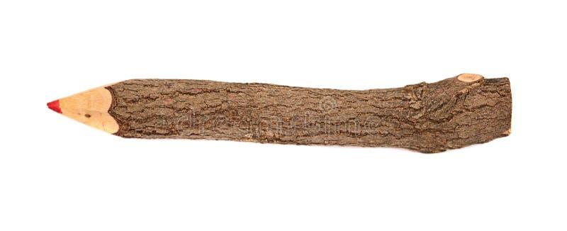 gałęziastego ołówka stylizowany drzewo zdjęcie stock