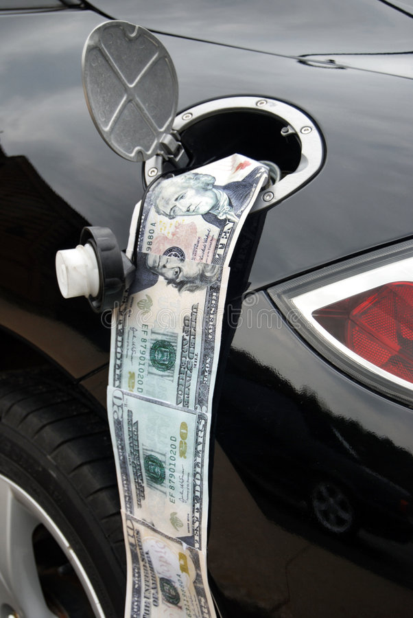 Download Ga$ Ca$h stock photo. Image of expensive, president, gasoline - 5057016