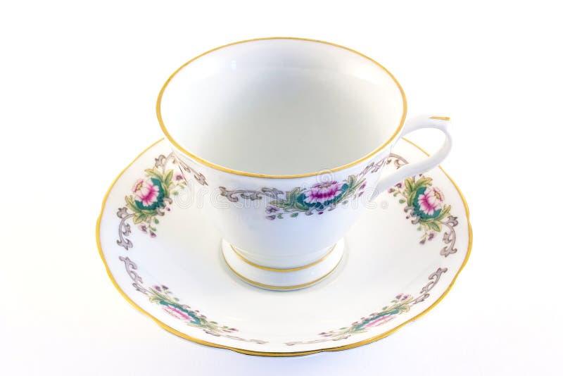 Download Ga China voor thee weg stock afbeelding. Afbeelding bestaande uit saucer - 298153