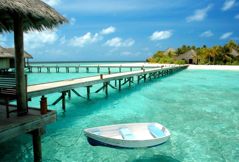 Ga eiland royalty-vrije stock fotografie