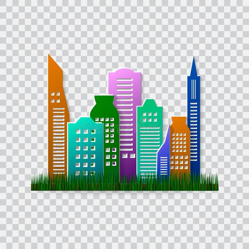 Ga groen ontwerpmalplaatje Milieu vectorillustratie Milieuvriendelijk concept vector illustratie