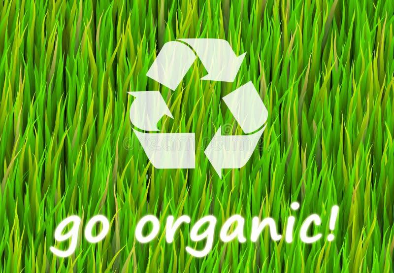 Ga Organisch royalty-vrije illustratie