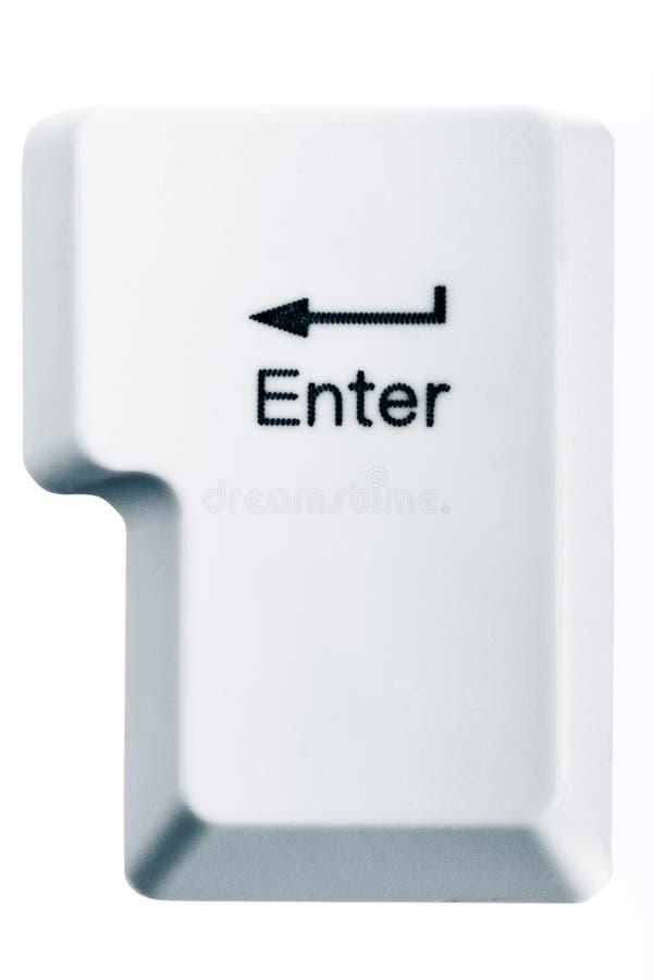Ga sleutel in stock afbeelding