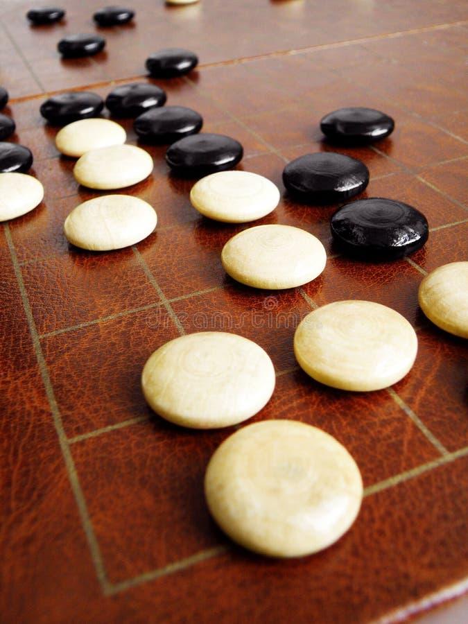 Ga spel of Weiqi royalty-vrije stock fotografie