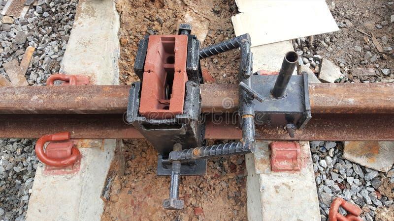 Gabarito comum Railway do molde imagem de stock