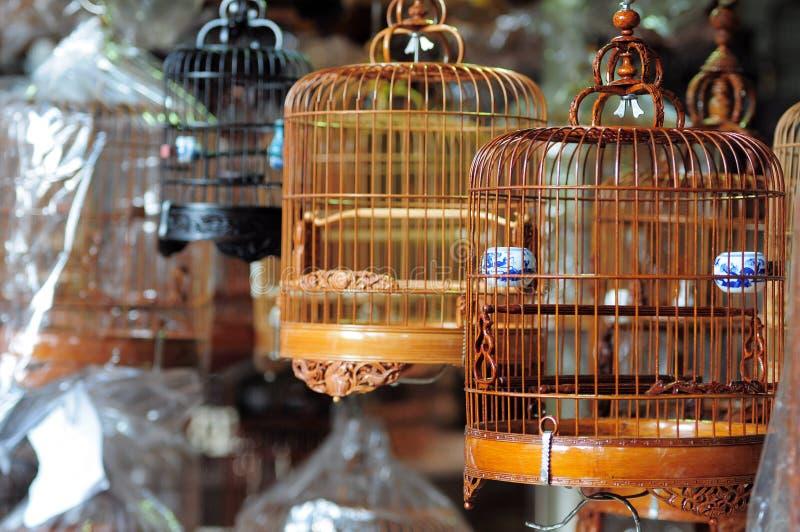 Gabbia di uccello cinese fotografia stock