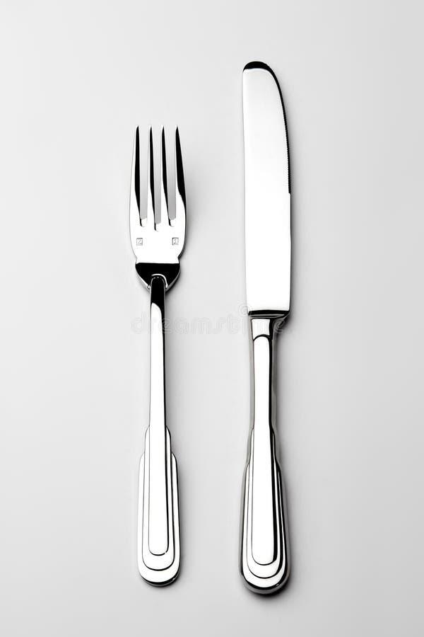 Gabel und Messer lizenzfreies stockfoto