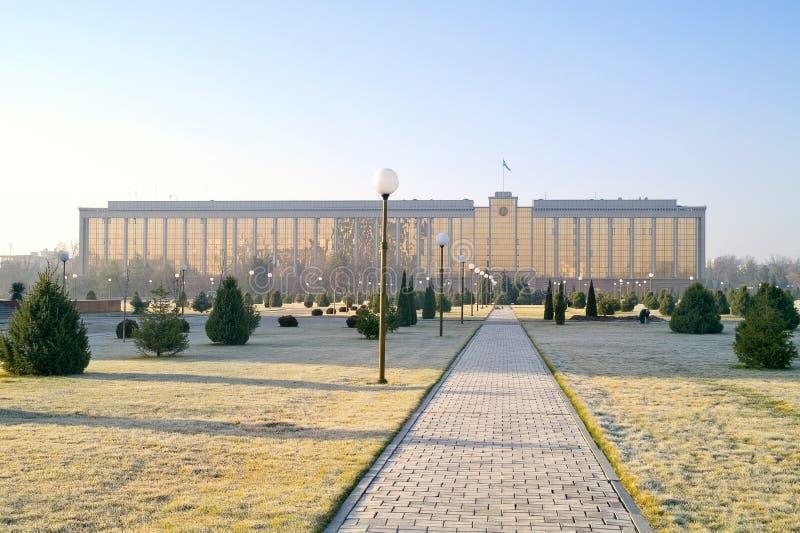 Gabinet ministrowie republika Uzbekistan zdjęcie royalty free