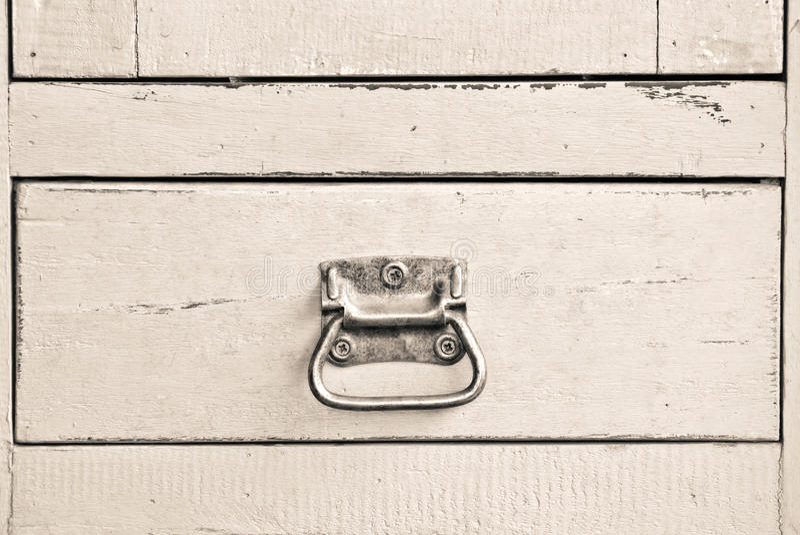 Gabinete azul de madera imágenes de archivo libres de regalías