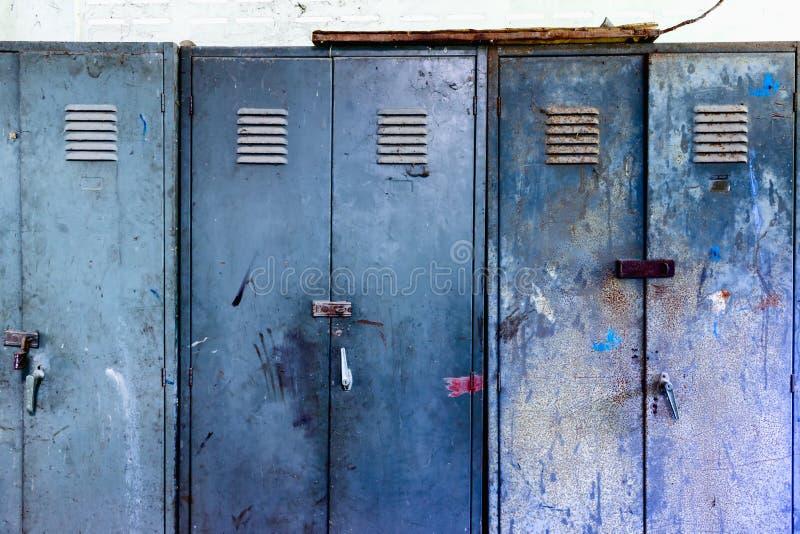 Gabinete de acero imagen de archivo