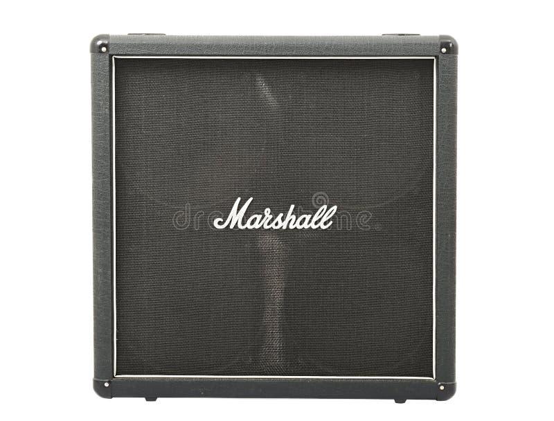 Gabinete de la guitarra de Marshall foto de archivo libre de regalías