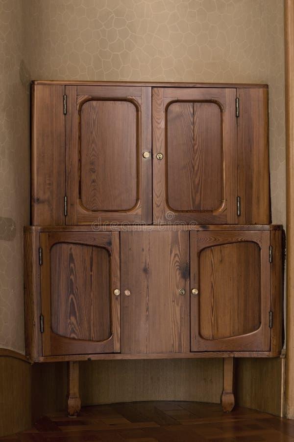 Gabinete de madera fotografía de archivo libre de regalías