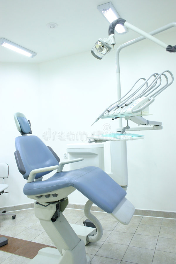 Gabinete dental foto de stock royalty free