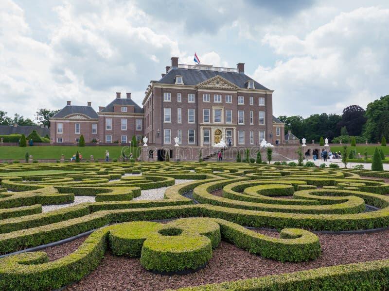 Gabinete do Het do palácio real nos Países Baixos imagens de stock royalty free